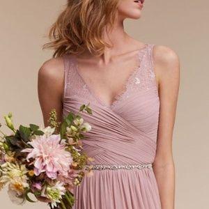 BHLDN Fleur Dress Rose Quartz